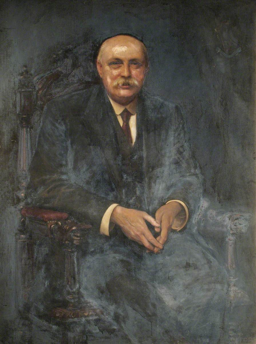 Frederick W. Drewett, Director of the Prince of Wales General Hospital, Tottenham