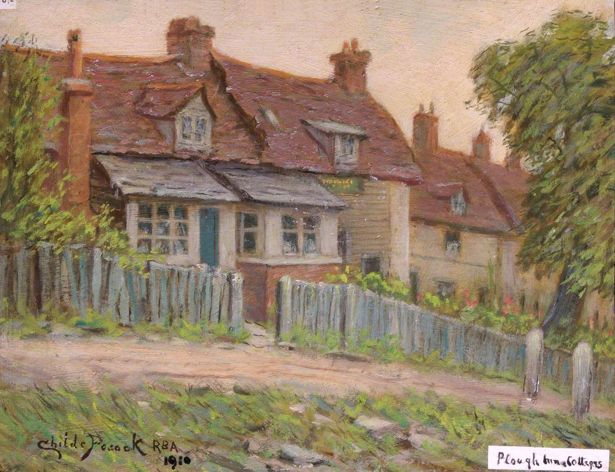 'The Plough Inn' and Cottages, Holcombe Hill, Mill Hill