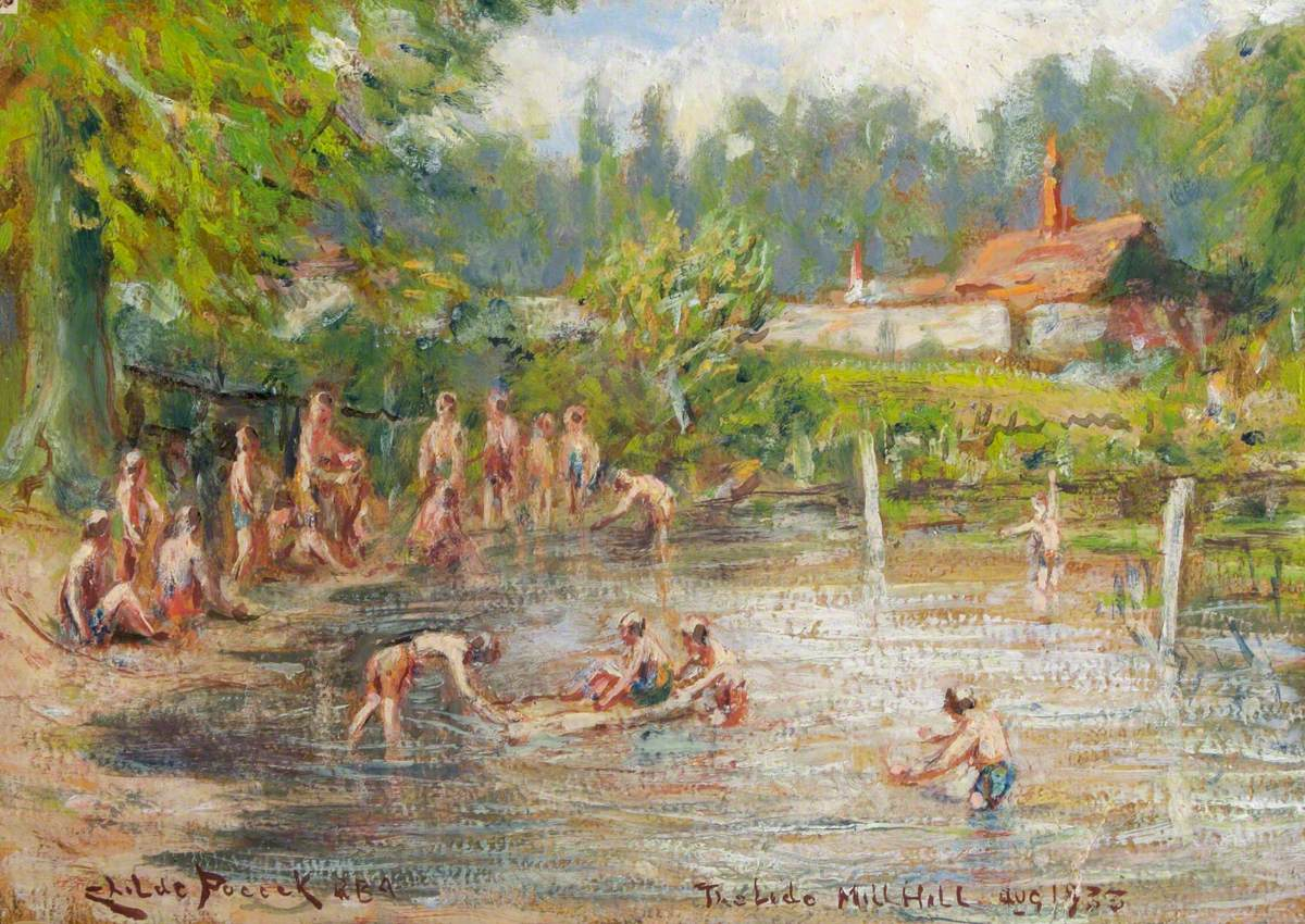 The Sheepwash (The Lido), The Ridgeway, Mill Hill