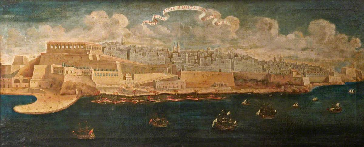 Prospect of the City of Malta from the East