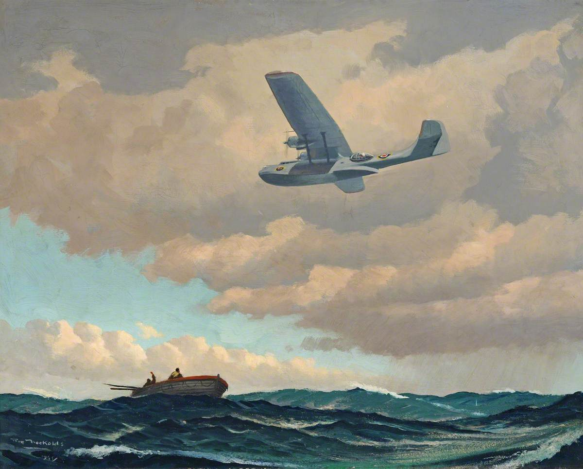 Catalina on Air Sea Rescue