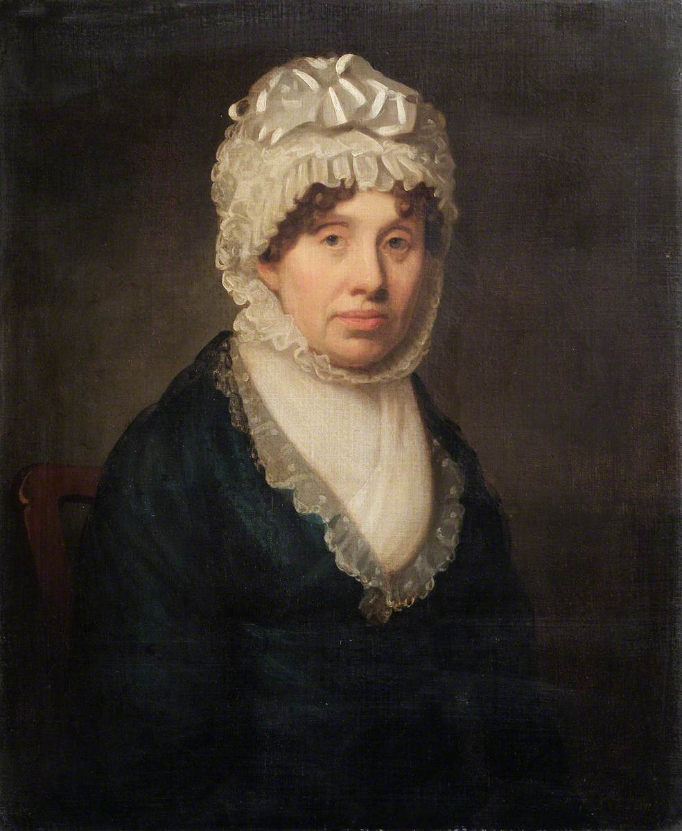 Portrait of an Unknown Woman Associated with the Ingleby Family of Valentines Mansion, Essex