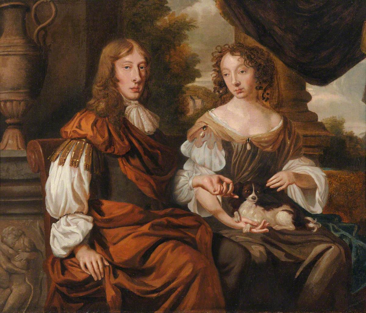 Thomas Fanshawe (1628–1705), with His Second Wife, Elizabeth (1641–1729)