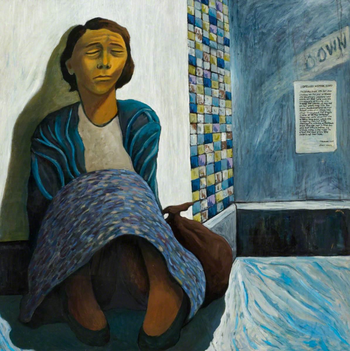 Homeless Woman, Soho