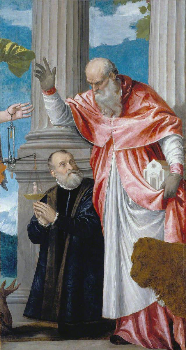 Saint Jerome and a Donor