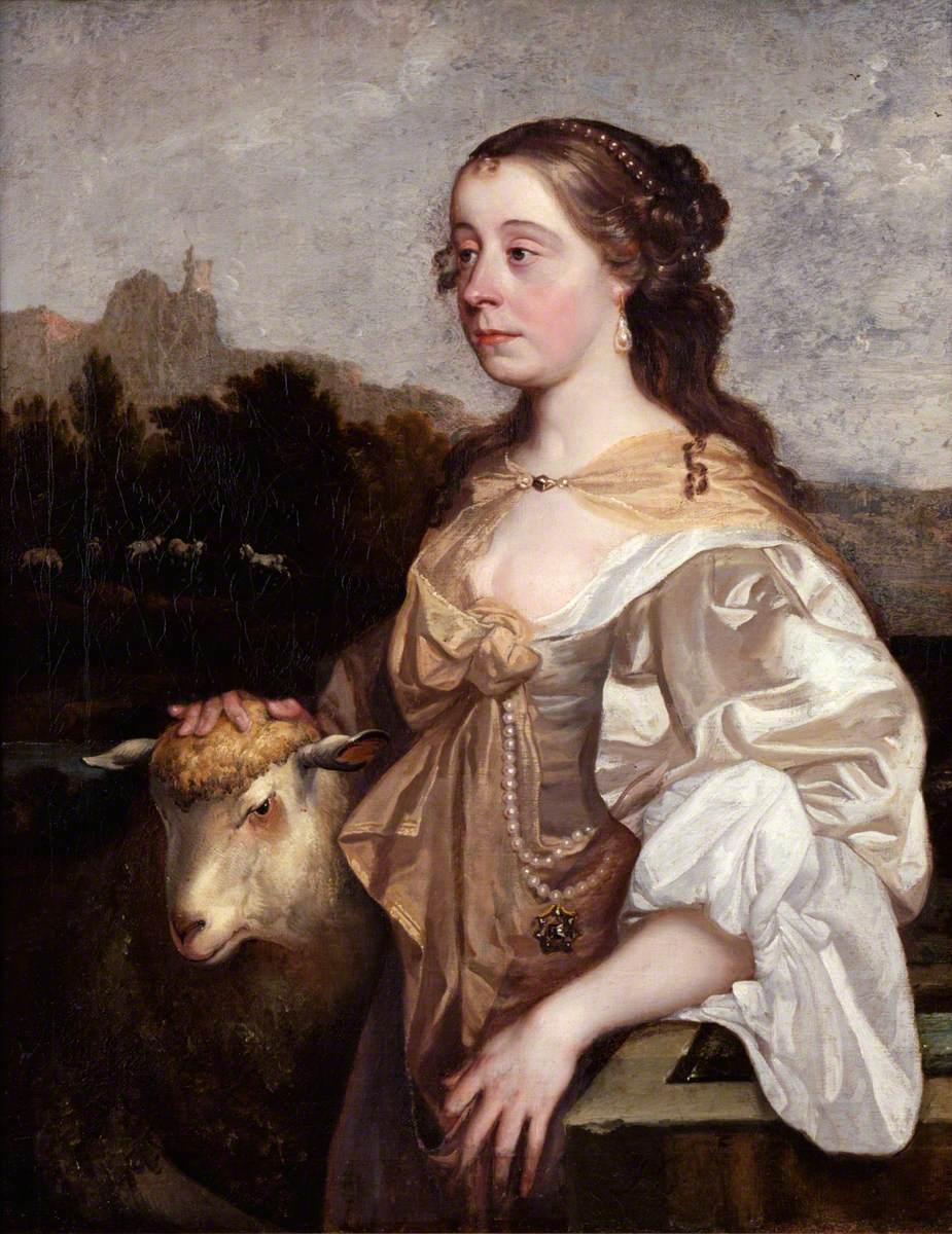 Portrait of a Lady as a Shepherdess