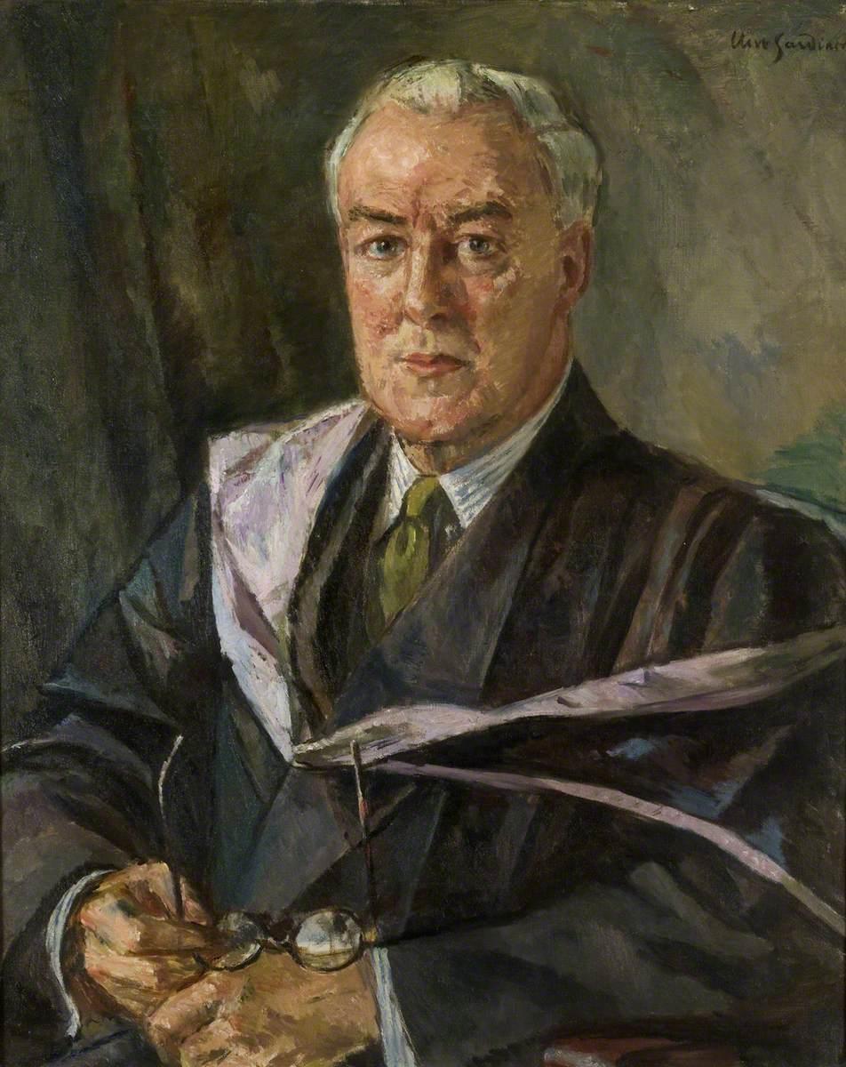 A. E. Dean, CBE, MA, MLit, Warden of Goldsmiths College (1927–1950)