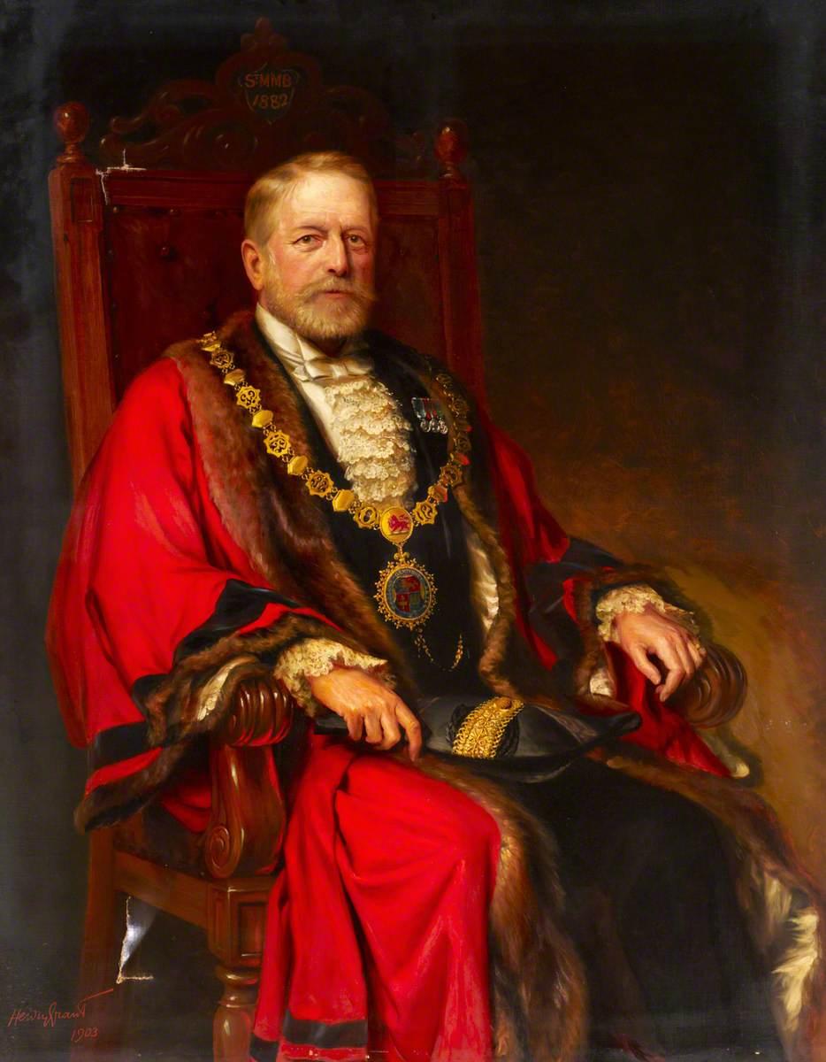 Colonel Samuel Bourne Bevington, Mayor of Bermondsey