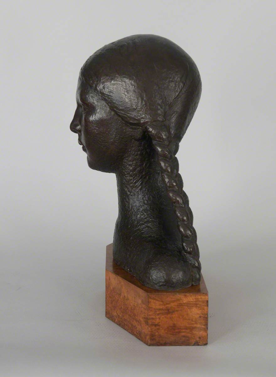 Head of a Girl with Pigtails (Girlhood)