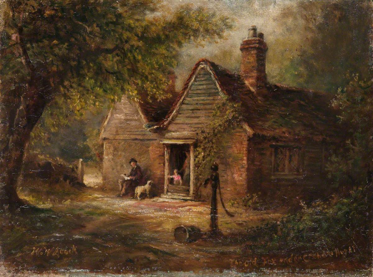 'The Old Fox', under Croham Hurst, Croydon, Surrey
