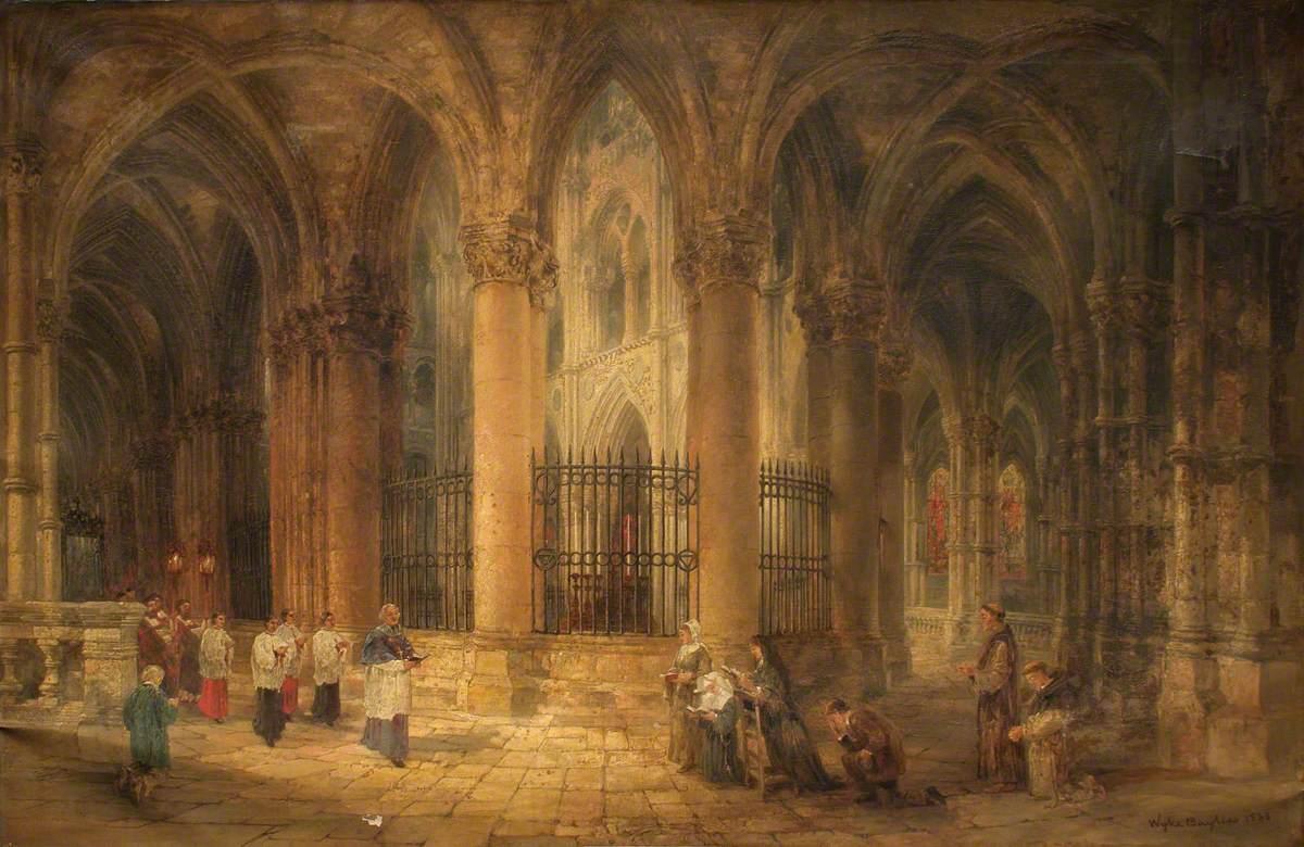 Abbaye-aux-hommes, Caen, France
