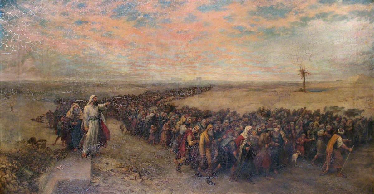 The Exodus | Art UK