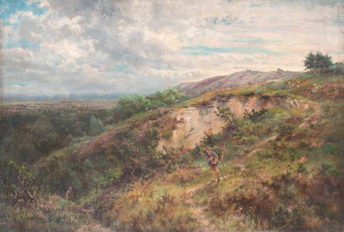 On Addington Hills, Croydon, Surrey