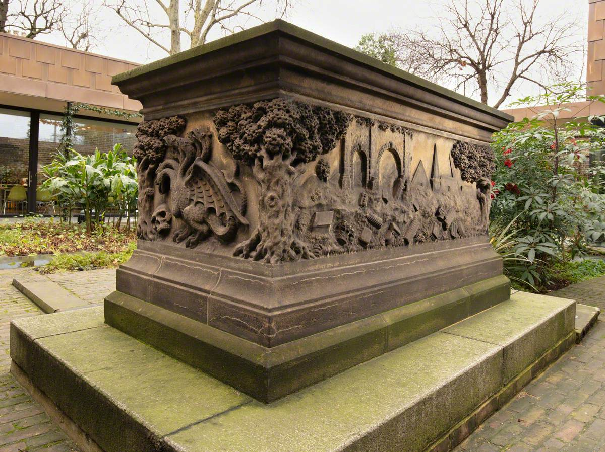 Tomb of John Tradescant the Elder (c.1570–1638) and John Tradescant the Younger (1608–1662)