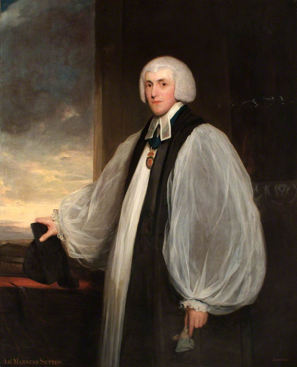 Charles Manners-Sutton (1755–1828), Archbishop of Canterbury