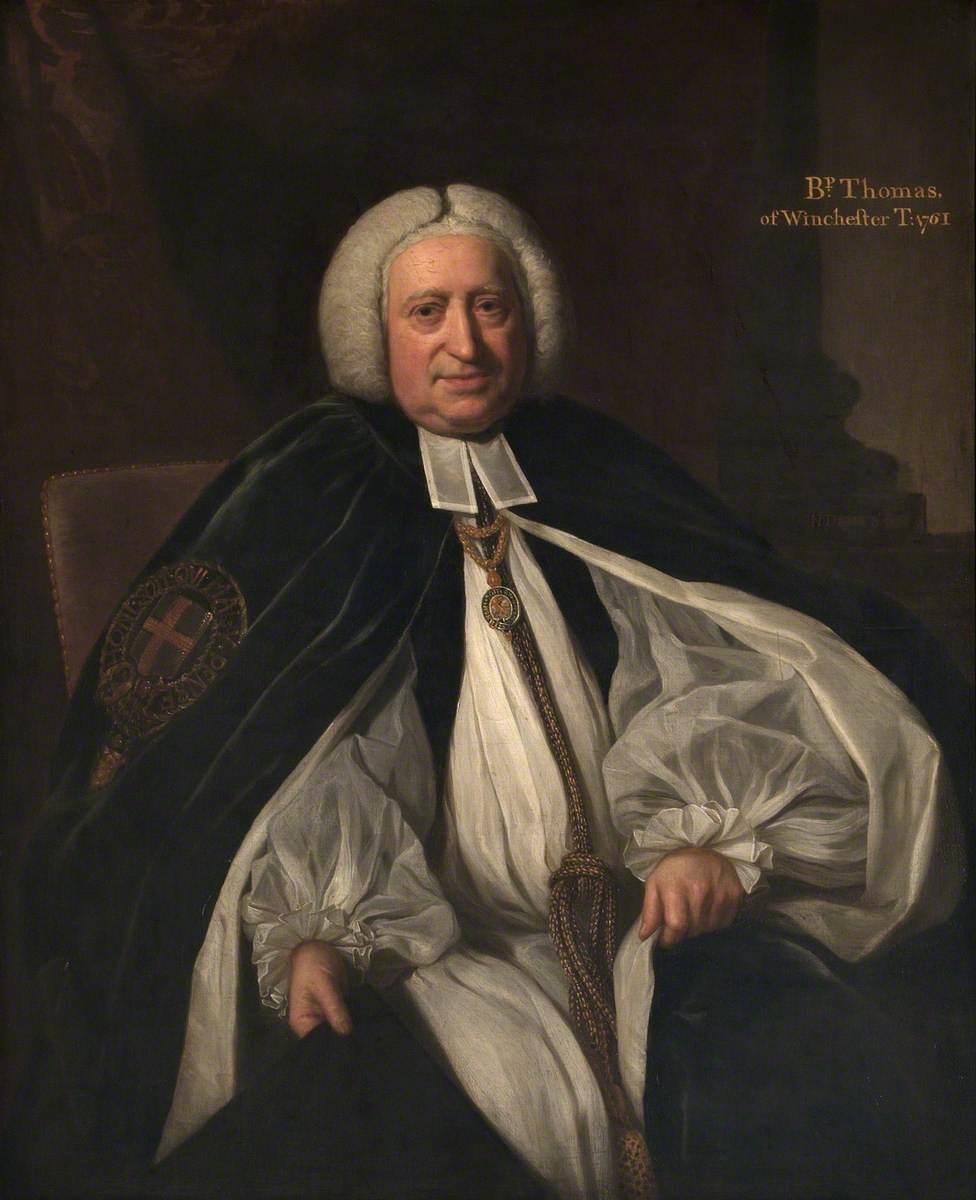 John Thomas (1696–1781), Bishop of Winchester
