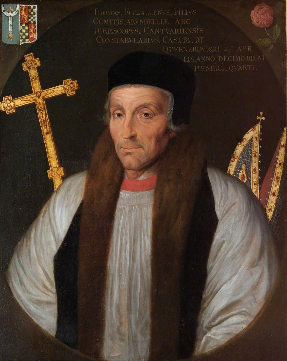 Thomas Arundel (1353–1414), Archbishop of Canterbury