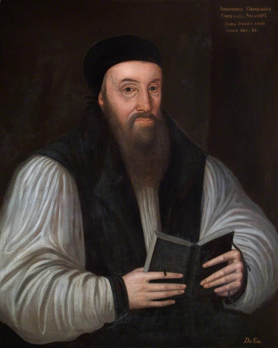 Edmund Grindall (c.1519–1583), Archbishop of Canterbury