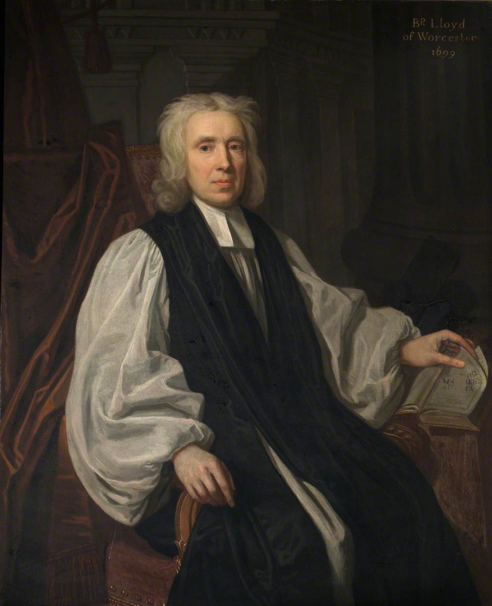 William Lloyd (1627–1717), Bishop of Worcester