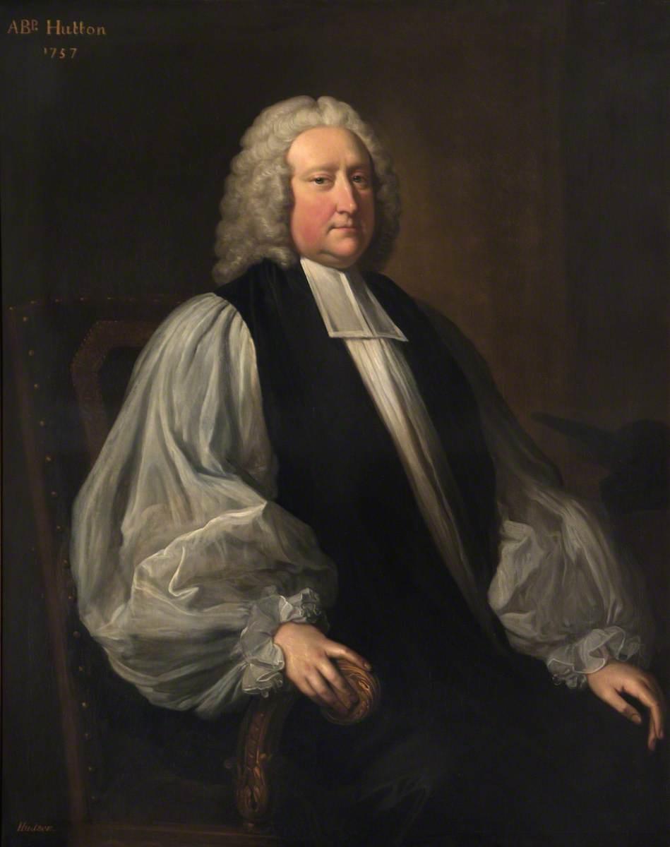 Matthew Hutton (1693–1758), Archbishop of Canterbury