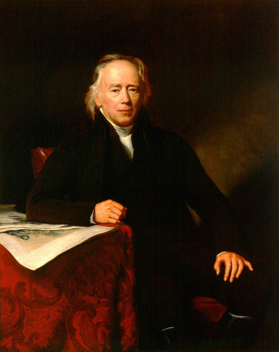 William Allen (1770–1843), FRS, First President of the Pharmaceutical Society (1841–1843)
