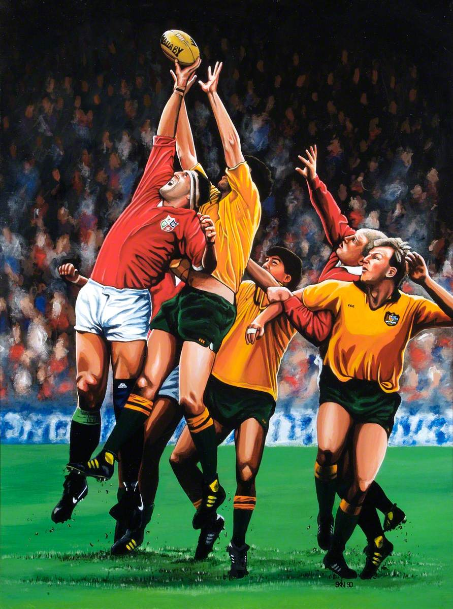 Australia versus British Lions