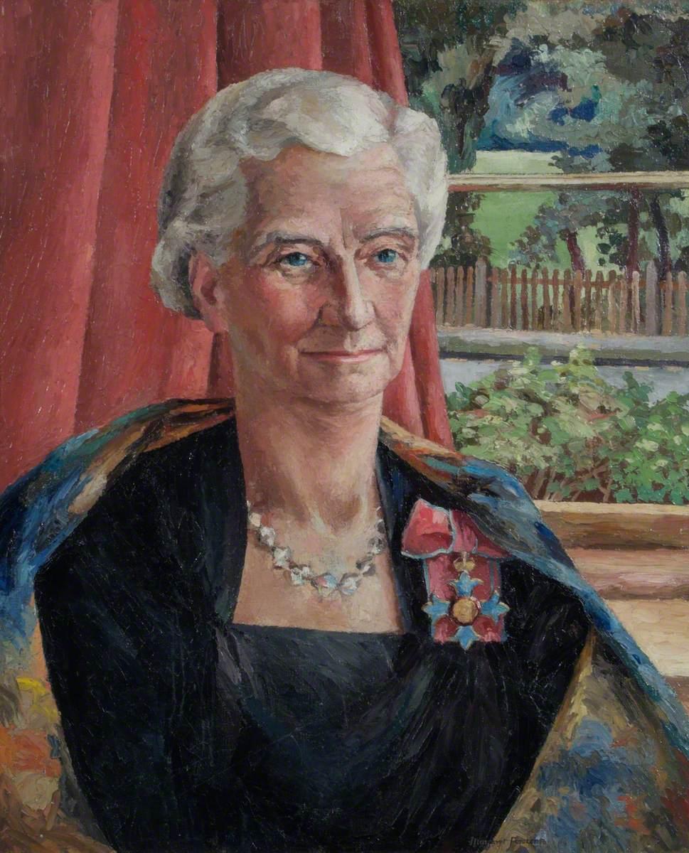 Miss Agnes Catnach (1891–1979), CBE, BA, Headmistress at Mayfield (1934–1952)