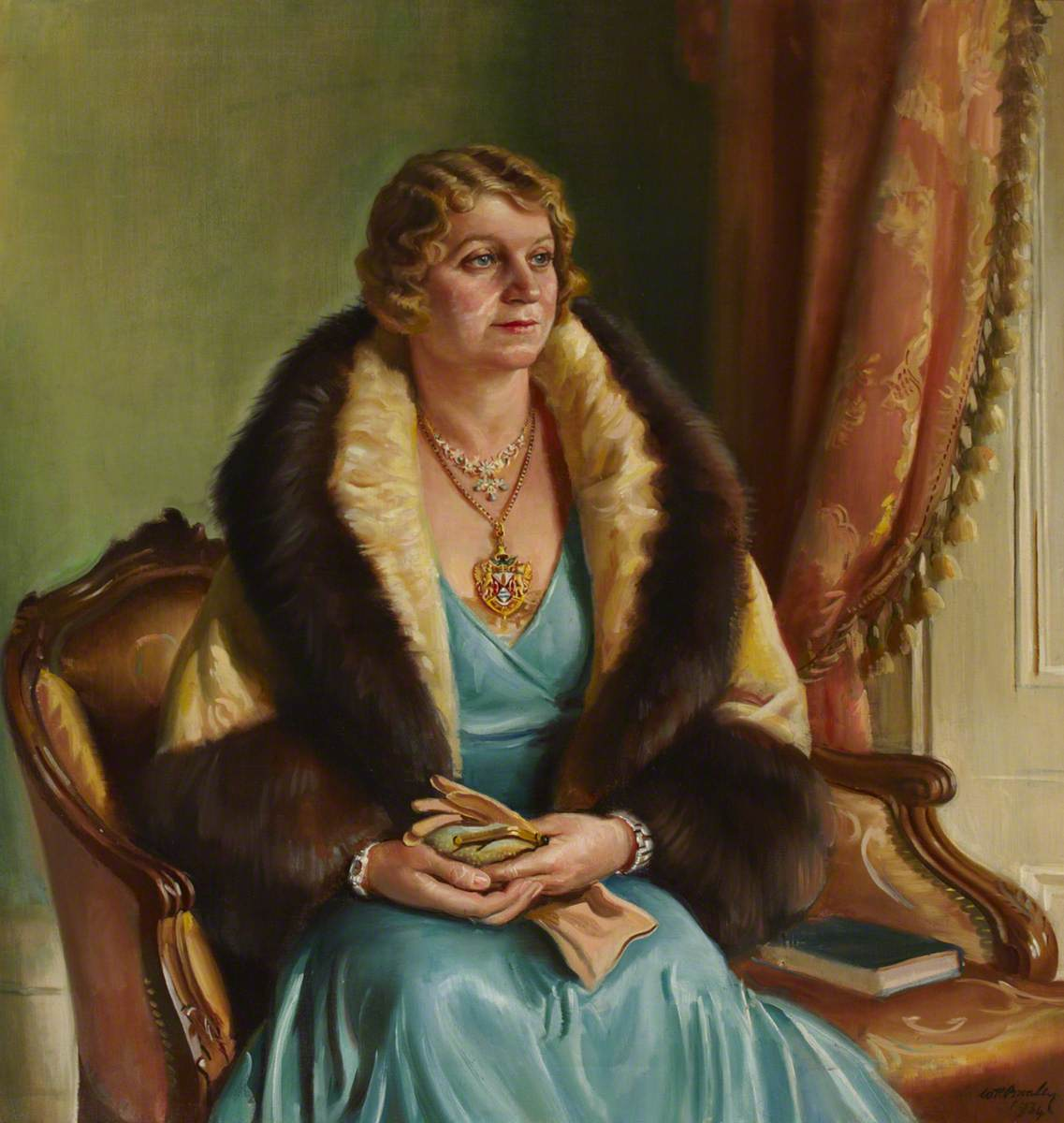 Mrs C. H. Curtis, Mayoress of Brentford and Chiswick Borough Council (1933–1934)