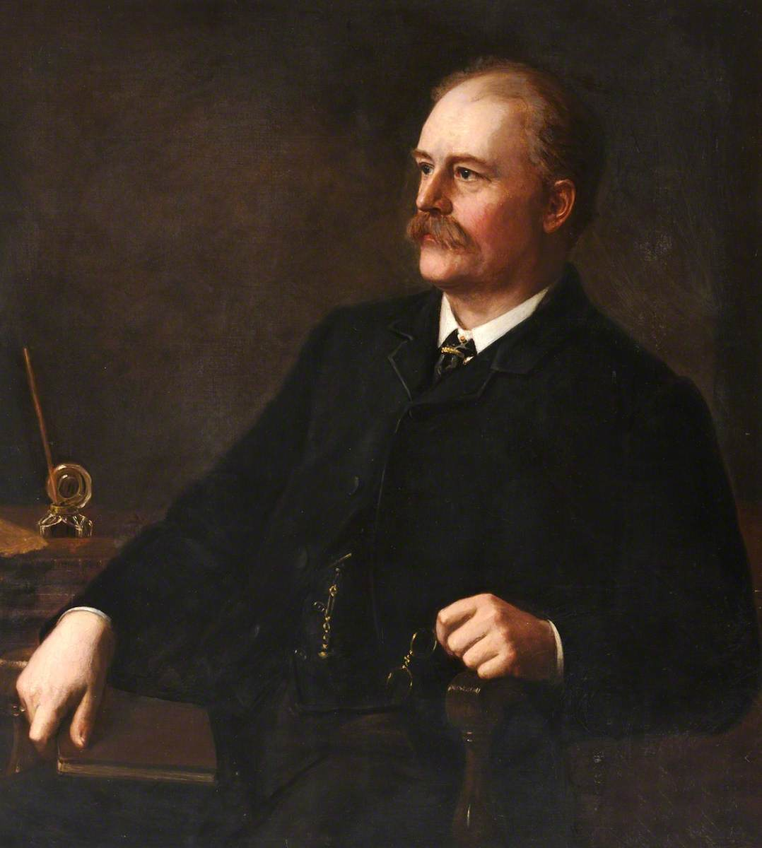 John Allen Brown (1833–1903), FRGS, First Chairman of the Ealing Free Library