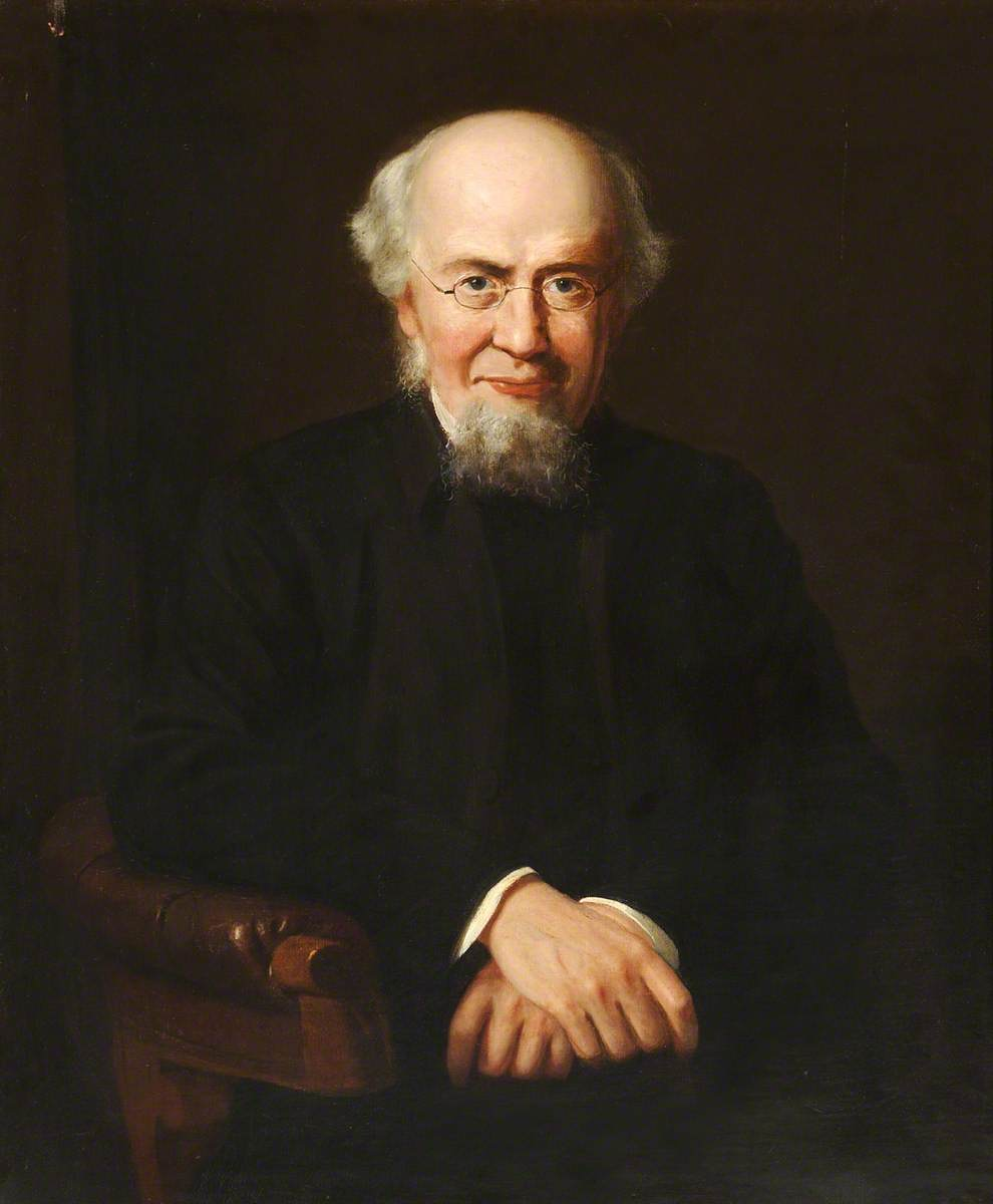 Reverend W. Relton (1816–1893), Vicar of St Mary's Church, Ealing (1853–1886)