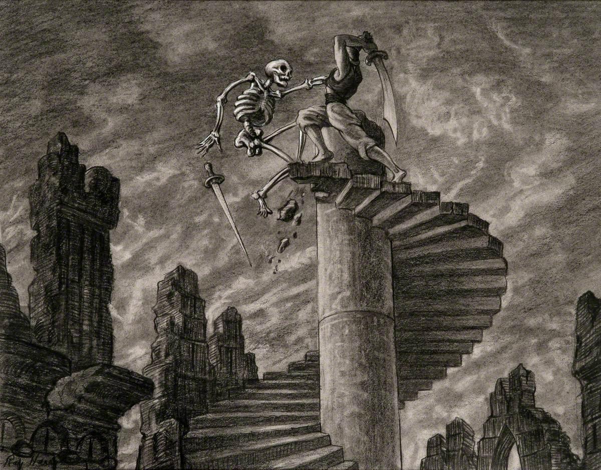 Sinbad Fights the Skeleton
