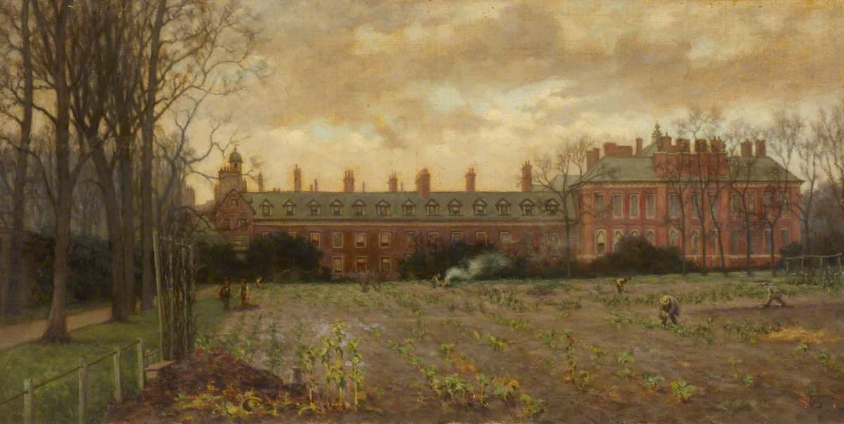 Kensington Palace Exterior, South Front