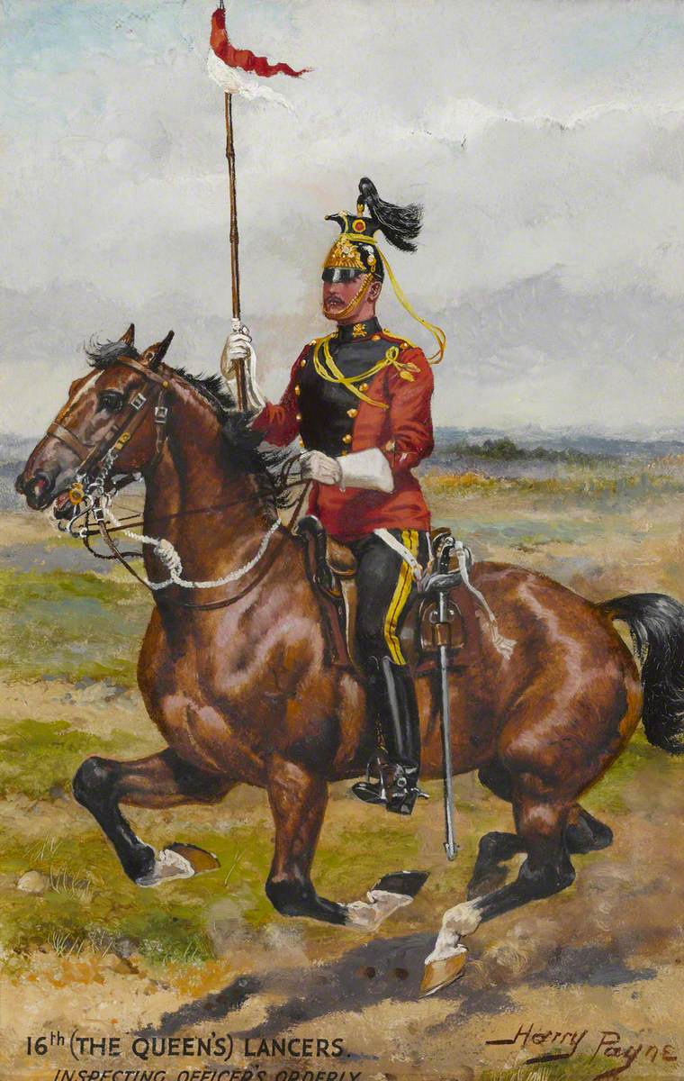 16th (The Queen's Lancers), Inspecting Officer's Orderly