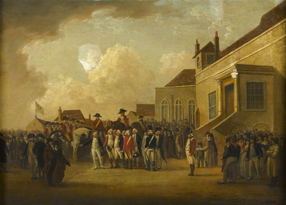 Frederick Augustus (1763–1827), Duke of York, Reviewing Troops in Flanders