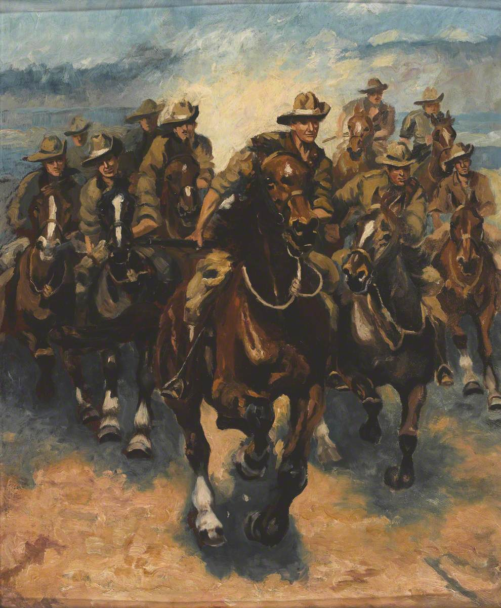 Australians at the Gallop
