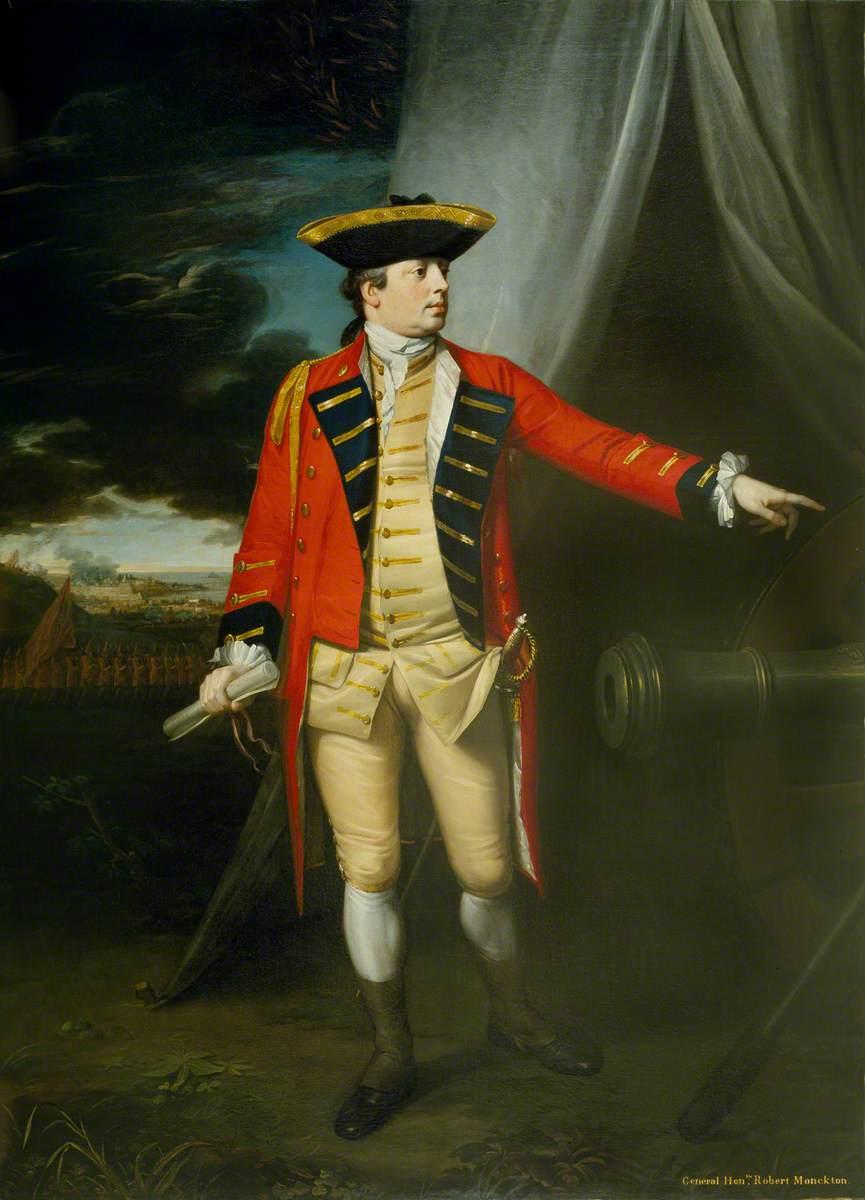 Lieutenant-General The Honourable Robert Monckton (1726–1782), 1762