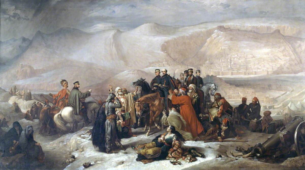 The Capitulation of Kars, Crimean War, 28 November 1855