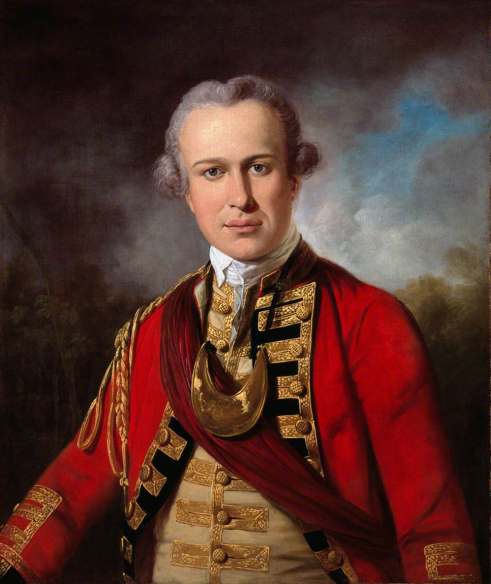 An Officer of a Royal Regiment of Foot