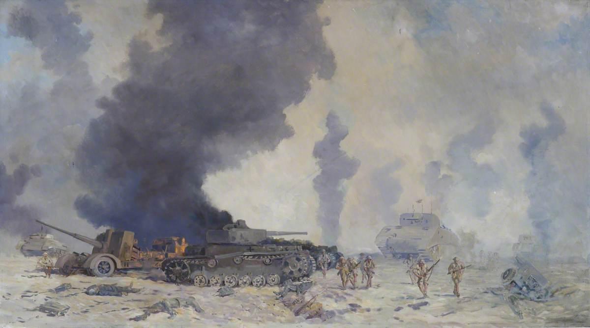 The Battle of El Alamein, (23rd October–4 November, 1942)