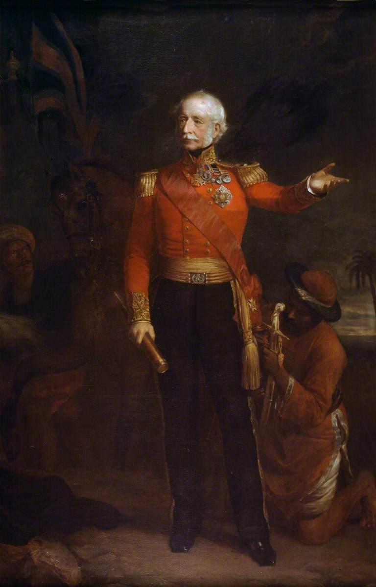 Lieutenant-General Viscount Hugh Gough (1779–1869), Army Staff