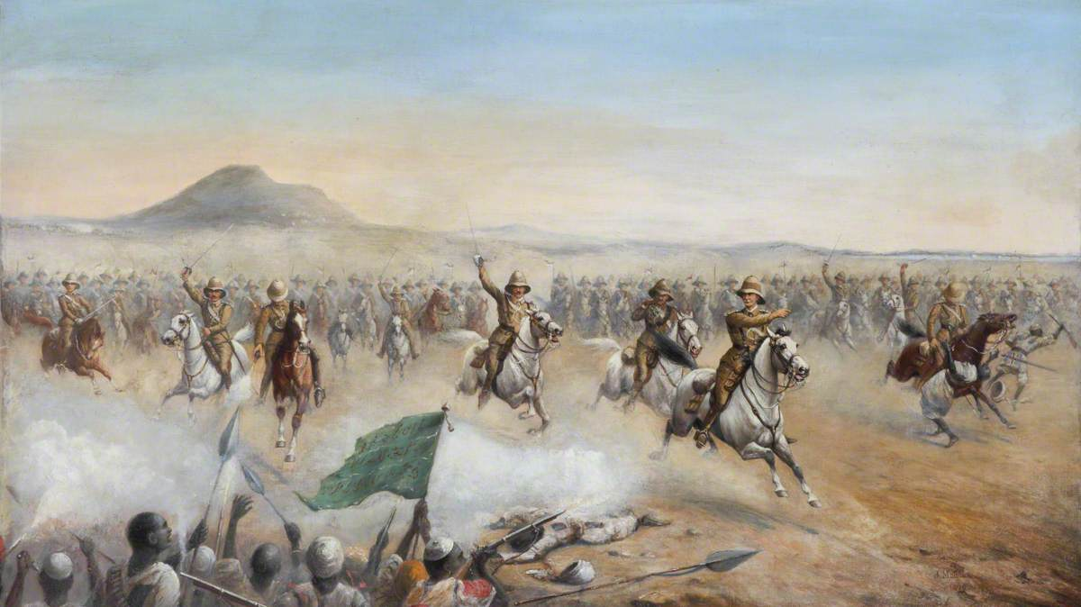 The Charge of the 21st Lancers at Omdurman, 2 September 1898