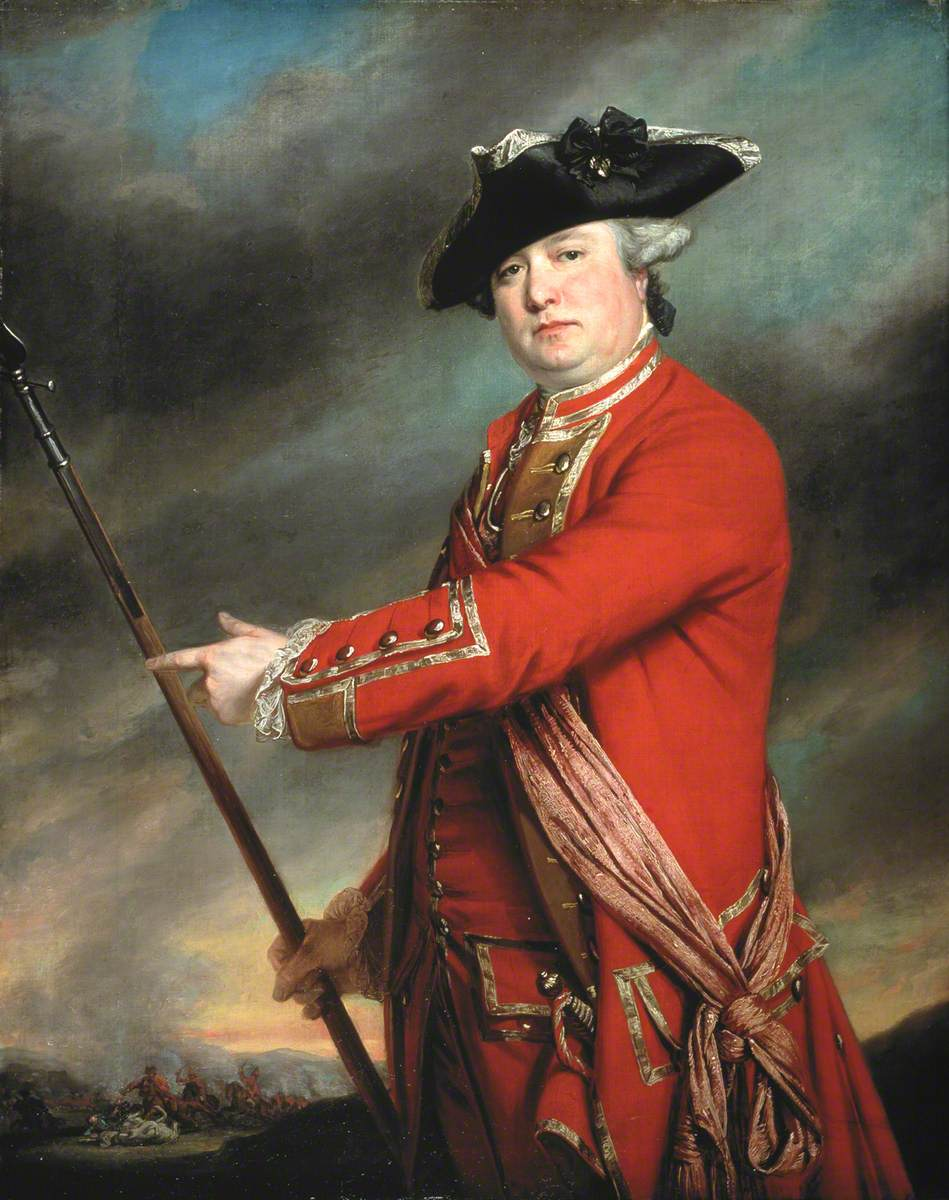 Lieutenant Colonel Francis Smith  (1723–1791), 10th Regiment of Foot, 1764