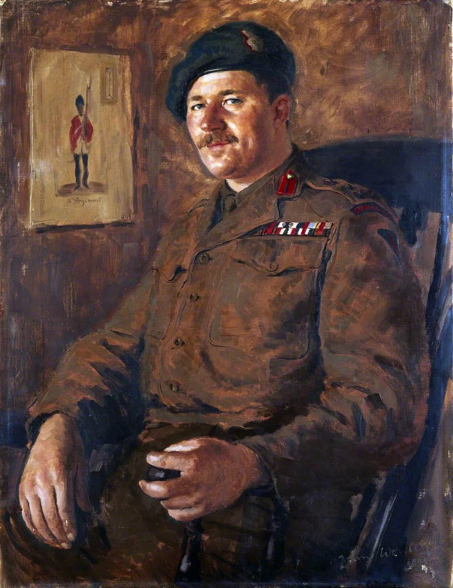 Brigadier Peter Young, DSO, MC, No. 3 Commando