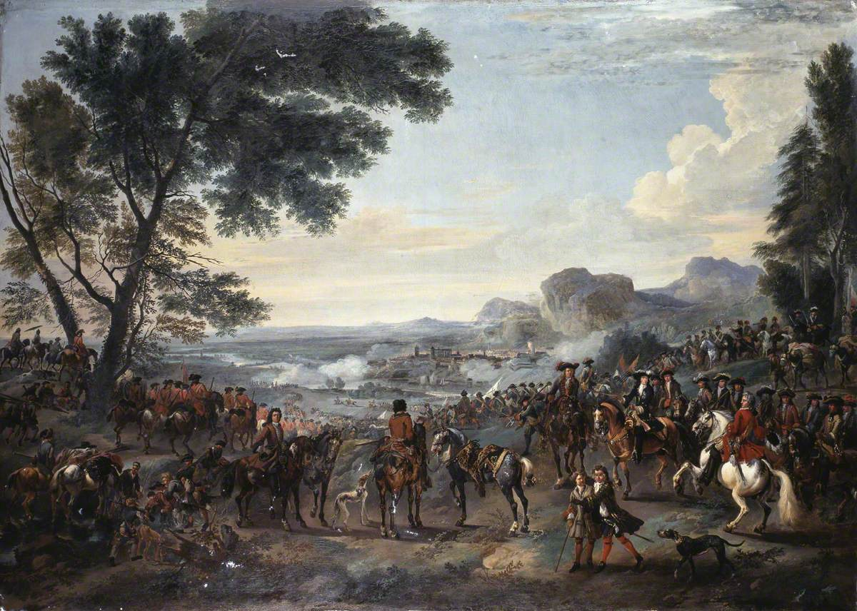 William III (1650–1702), and His Army at the Siege of Namur, 1695