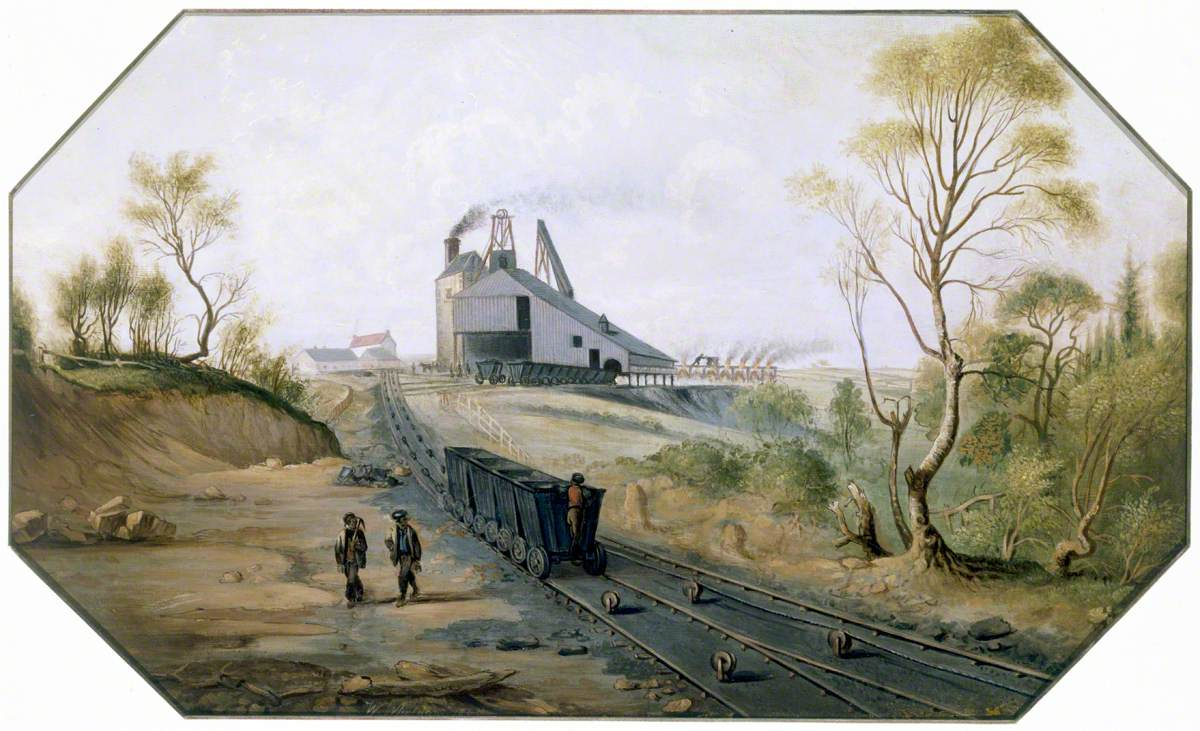 North Eastern Coalfield: Colliery Pit-Head