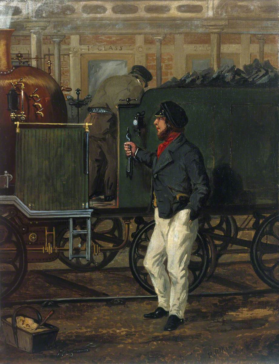 The Driver of the Mail, 1852
