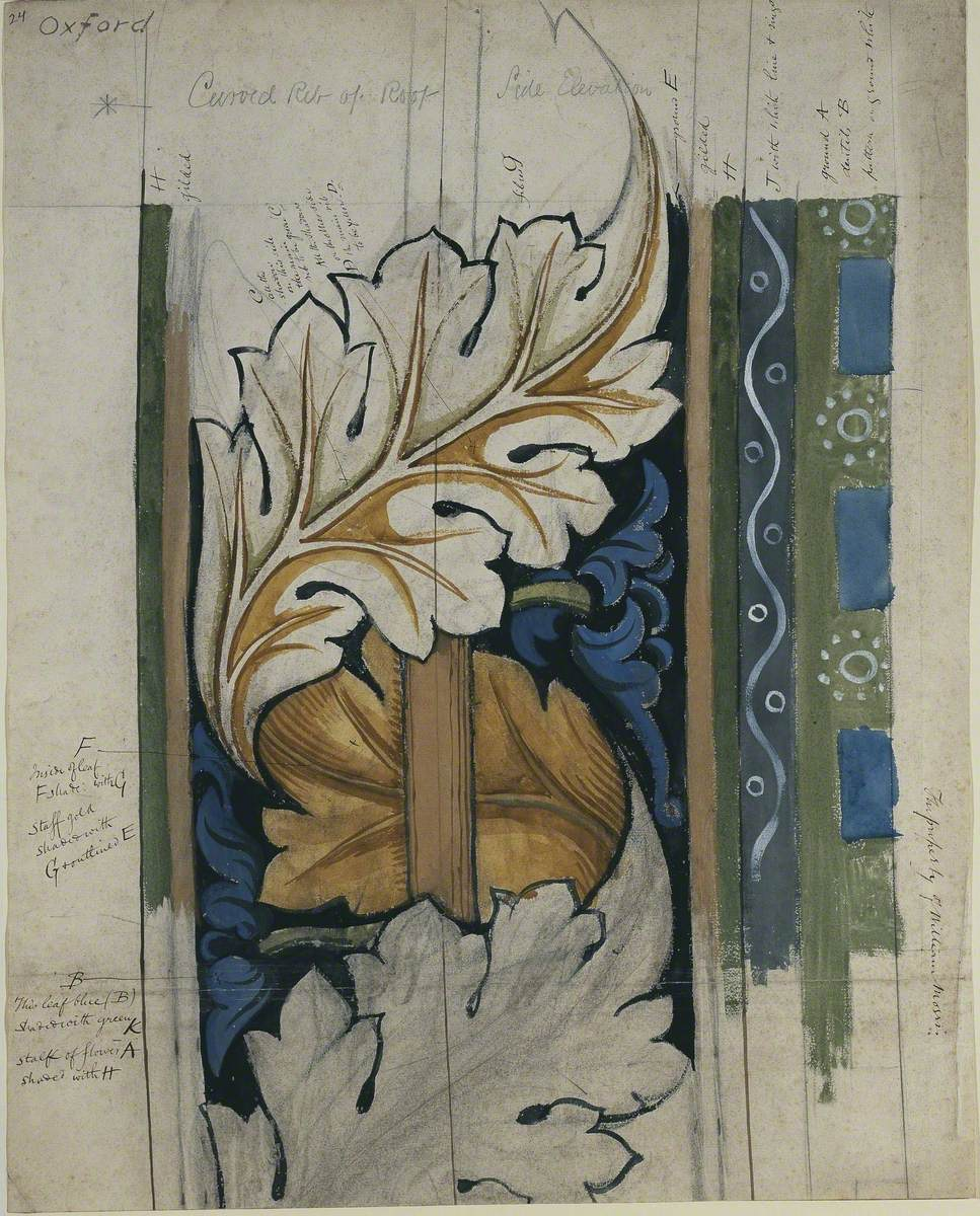 Design for Oxford Union Ceiling
