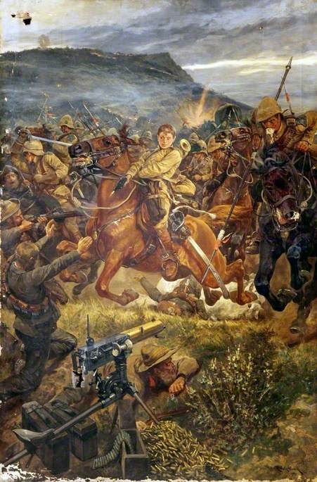 Charge during the Boer War