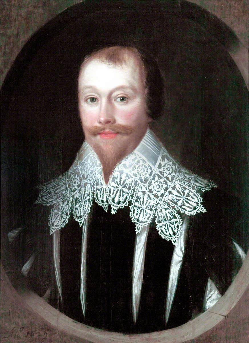 Portrait of a Man in a High Lace Collar
