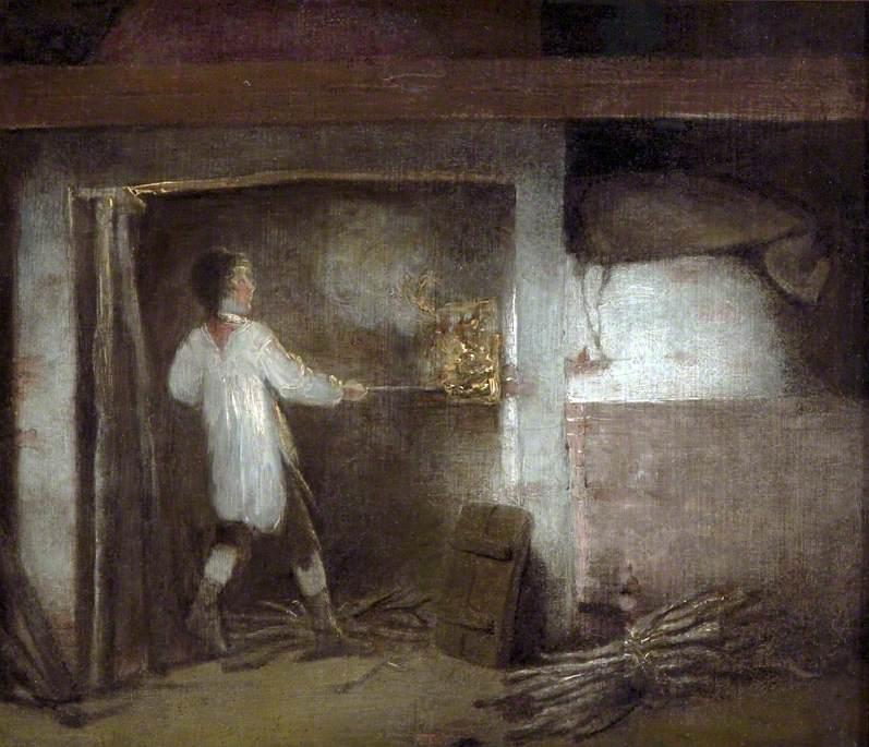 Firing Pottery